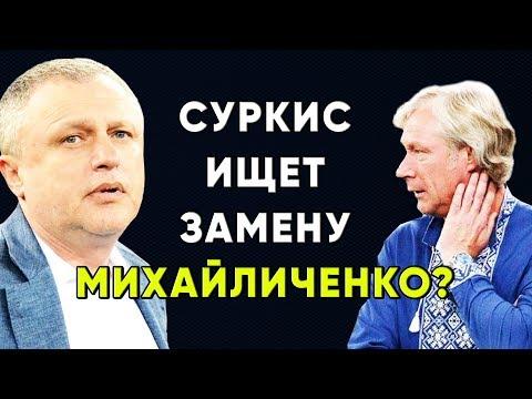 Динамо Киев ищет нового главного тренера ? Новости футбола Украины