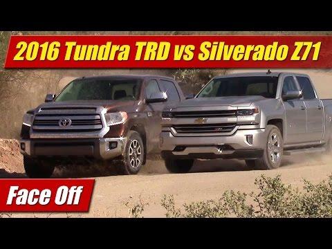 Face Off: 2016 Toyota Tundra TRD vs Chevrolet Silverado Z71