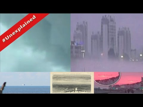 Floating city China- Parallel Universe? Fata Morgana? Mirage cities around the world★★★