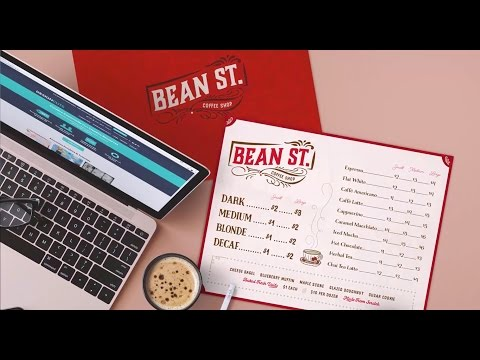 How to Design a Vintage Coffee Shop Menu: Illustrator Tutorial