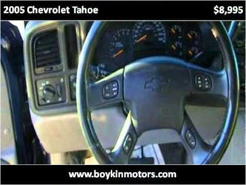 2005 Chevrolet Tahoe Used Cars Smithfield Nc Youtube