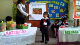 Exposicion-  Frutas con vitamina C, Fernanda Gabriela