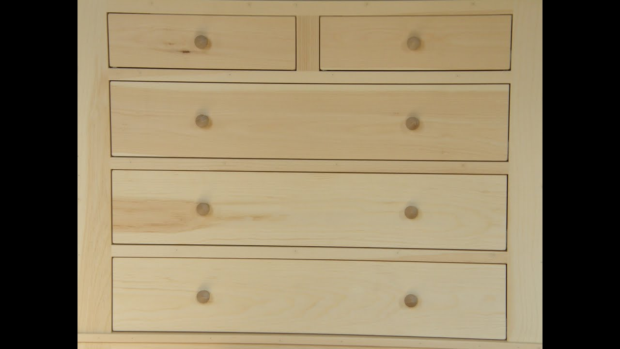 How to make dresser drawers - Dresser Build Part 3 Drawers