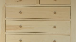 Dresser Build Part 3: Drawers