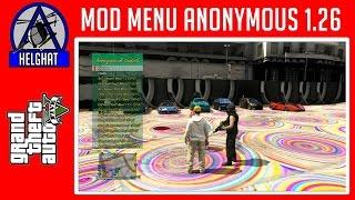 MOD MENU GTA V 1.26/1.25 BLES /CEX/DEX UPDATE ANONYMOUS + TUTORIAL