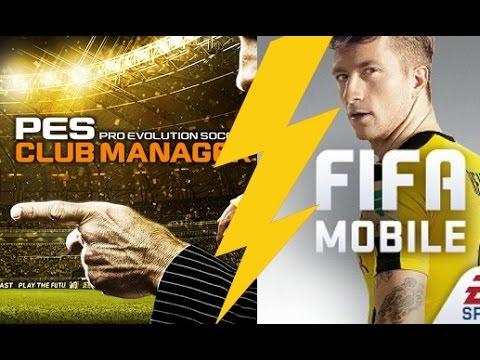 Mobilní ochutnávky #39 | FIFA Mobile vs PES Manager | Magician | CZ/SK
