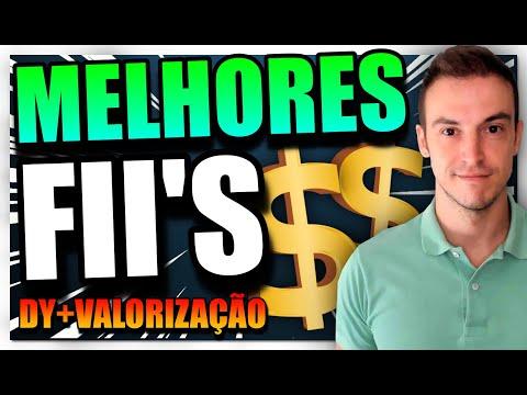 TOP 10 MELHORES FIIS. DIVIDENDOS + VALORIZAÇÃO DA COTA