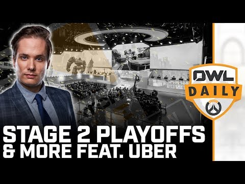 Stage 2 Playoffs & More feat. Uber - Overwatch League Daily