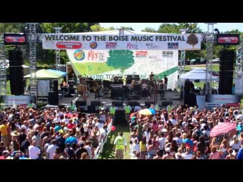 Rock Mafia: The Big Bang at Boise Music Festival 2011