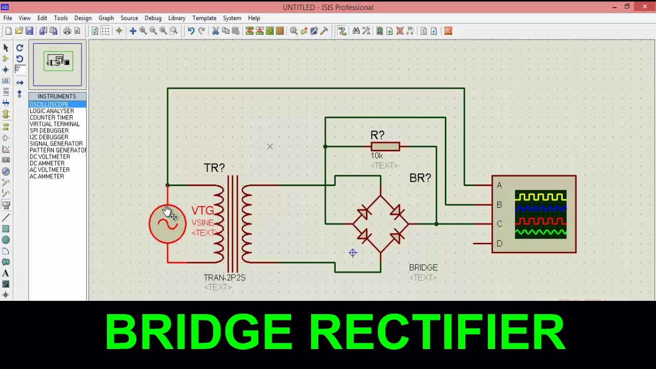 Bridge Rectifier Full Wave Youtube Diagram
