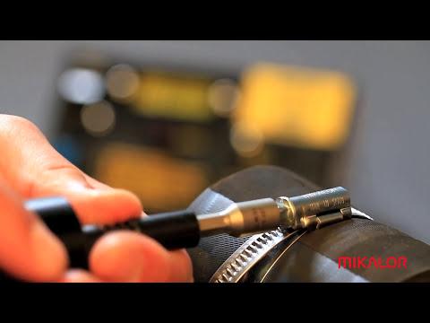Mikalor How to assemble a hose clip (English)