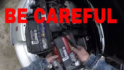 My car will not start.How to replace the battery in a Saturn