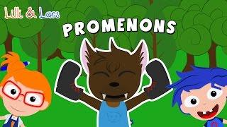 le grand mechant loup comptine - PROMENONS nous dans les bois