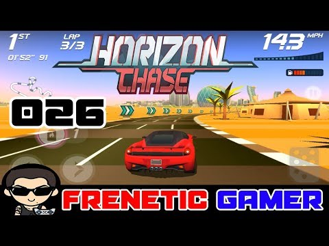 HORIZON CHASE: Gameplay United Arab Emirates Abu Dhabi - All Coins 100%