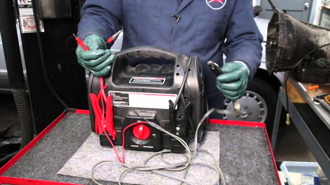 medium resolution of testing a mercedes automatic transmission kick down switch