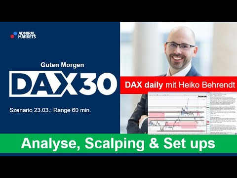 DAX aktuell: Analyse, Trading-Ideen & Scalping | DAX 30 | CFD Trading | DAX Analyse | 23.03.2020