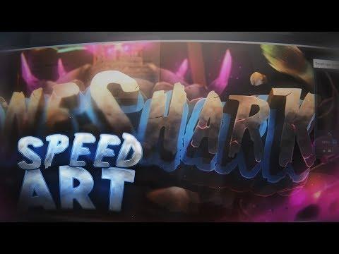 [SPEED ART] Banner Para Shark   Photoshop  ReyzzuG