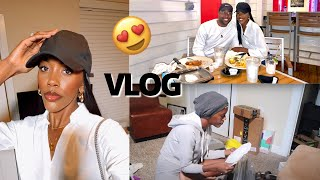 CURLIECRYS VLOG - DATE NIGHT, INFLUENCER TIPS, SELF CARE, HOW I CREATE IN-SHOWER CONTENT