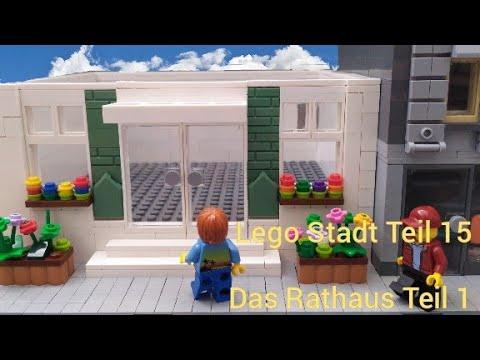lego Stadt Teil 15 ( das Rathaus  teil 1)