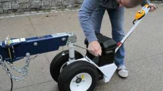 Parkit360 - Attach Your Power Trailer Dolly To A Sea Ray Yatch