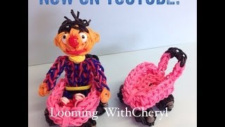Rainbow Loom BABY STROLLER / WAGON - Looming WithCheryl
