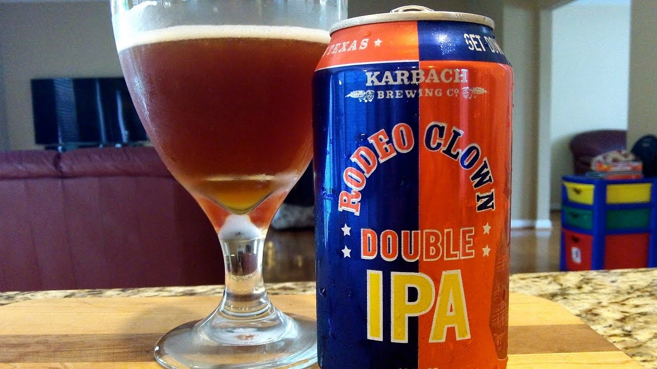 Karbach Brewing Co Rodeo Clown Double Ipa Djs Brewtube