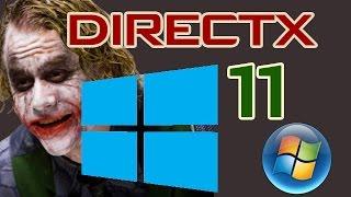 Descargar directx 11 (Microsoft) para windows xp/Vista/7/8 y 10 2017