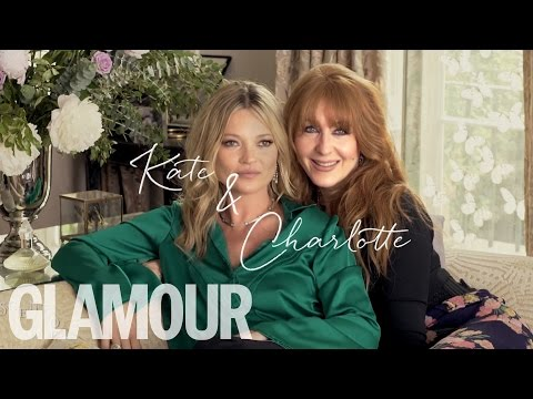 Kate Moss & Charlotte Tilbury talk Friendship & New Fragrance | Exclusives | Glamour UK