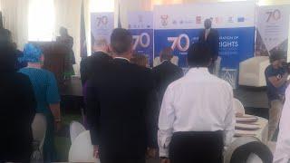 UDHR70 Welcome by Minister Masutha