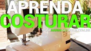 Aprenda a Costurar com Máquina Doméstica de Costura