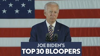 Joe Biden's Bloopers, Blunders, and Gaffes: The TOP 30 Countdown!