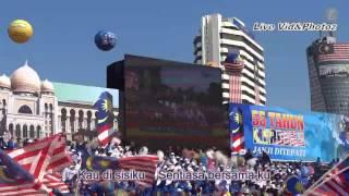 """Malaysia Hari Kemerdekaan yang Ke-55 lagu """"IM4U""""+Lyrics"""