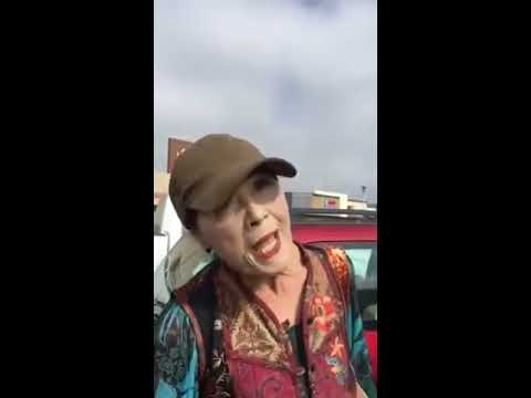 The KiddChris Show - Old Woman Goes OFF on a Guy for Parking Too Close