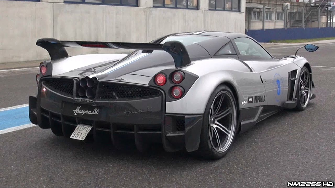 Cars 2 Live Wallpaper Pagani Huayra Bc Sound Full Throttle Accelerations Revs