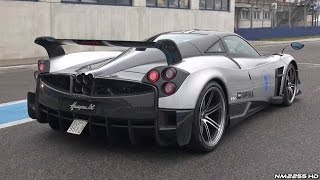 Pagani Huayra BC SOUND -  Full Throttle Accelerations, Revs, Fly Bys & More!!