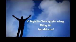 CHÚNG CON TÔN VINH CHA