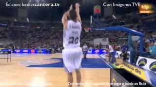 JOSH RUGGLES, de 16 años, Campeón de Triples SuperCopa ACB 2013 (basketcantera.tv)
