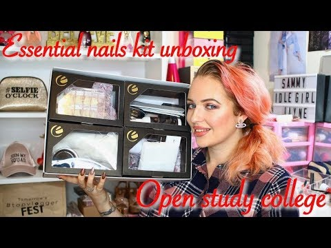 ESSENTIAL NAILS ACRYLIC NAIL TECH ONLINE COURSE | OPEN STUDY COLLEGE | IdleGirl