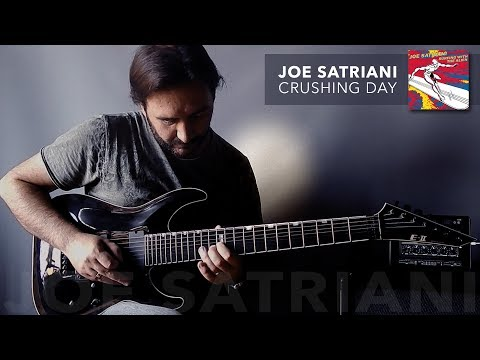 Joe Satriani - Crushing Day (metal version)