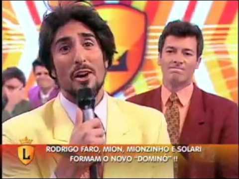 Mion faz Rodrigo Faro relembrar tempos de Dominó no palco do Legendários #arquivolegendários