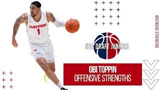 Obi Toppin | Offensive Strengths | NBA Draft Junkies 2020 Draft Prospects