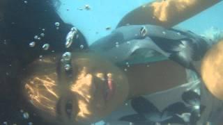 Krisha Aila Underwater