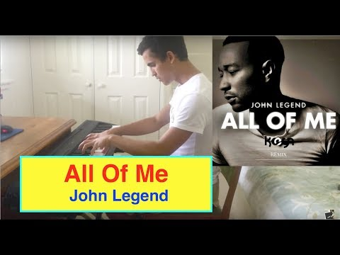 ♫ All Of Me John Legend Piano  ♫ + ** FREE SHEETS + TUTORIAL** HD