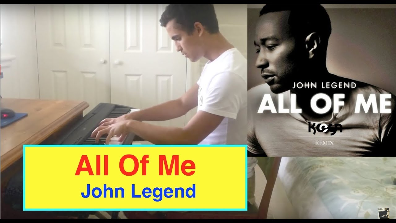 All Of Me John Legend Piano Cover ♫ + ** FREE SHEETS ...