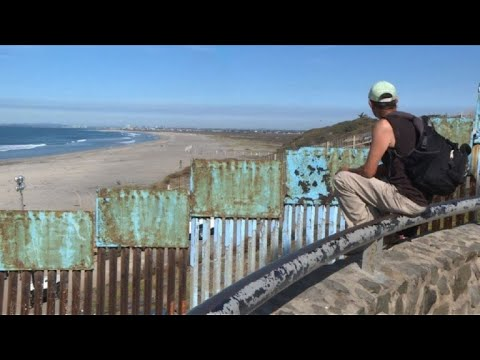 afpes: Miles de migrantes llegan en caravana a frontera México-EEUU