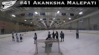 2018-2019 #41 Akanksha Malepati GY 2019 Carolina Lady Eagle Highlights