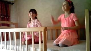 Кровать детская деревянная двухъярусная трансформер Карина Люкс видео обзор дешево