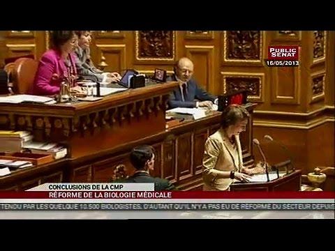 Commission mixe paritaire sur la biologie médicale - SEANCE (21/05/2013)