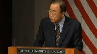 Ban Ki-moon: Korean Peninsula Tension