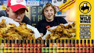 Mukbang Monday: Eating Every Buffalo Wild Wings Sauce Video